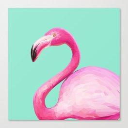 Flamingo Baby Canvas Print