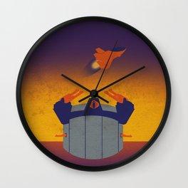 Plastic Terror Wall Clock