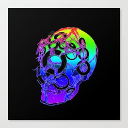 The Bounden Skull Canvas Print