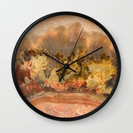 Idaho Gem Stone 13 Wall Clock