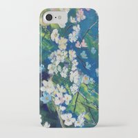 cherry blossoms iPhone & iPod Cases featuring Cherry Blossoms by Michael Creese