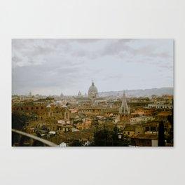 Villa Borghese Canvas Print