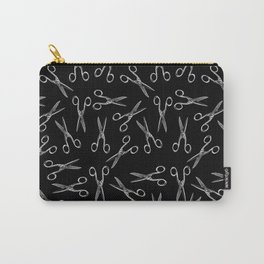 Scissors pattern Carry-All Pouch