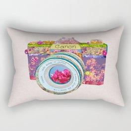 FLORAL CAN0N Rectangular Pillow