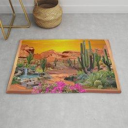 Sonoran Desert Landscape Rug