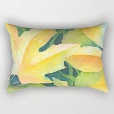 Bright leaf study Rectangular Pillow
