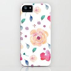 Springtime florals Slim Case iPhone (5, 5s)