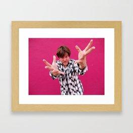 Brock Wilbur September Pink 2 Framed Art Print