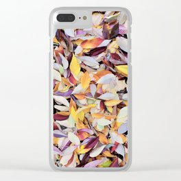 Fall Time Clear iPhone Case