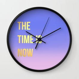 Time is Now Wall Clock