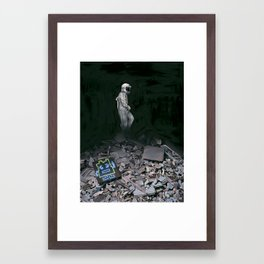 Mooninite Framed Art Print