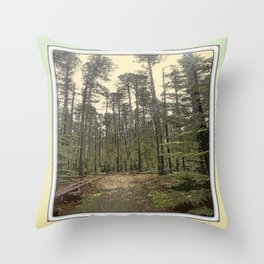 LODGEPOLE PINE Throw Pillow