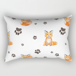 No Fox Given Rectangular Pillow