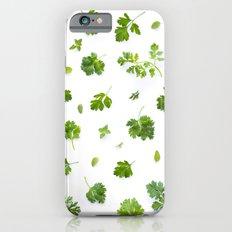 Herbs on White - Portrait iPhone 6s Slim Case