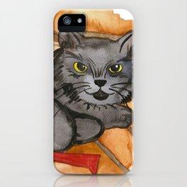 Cat in the Sauna iPhone Case