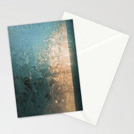 Frosty glint Stationery Cards