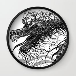 Dragon Whiskers Wall Clock