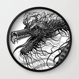 Dragon Whiskers Wall Clock