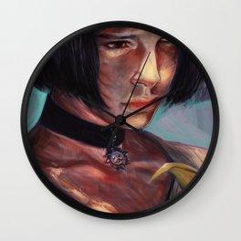 I want love or death Wall Clock