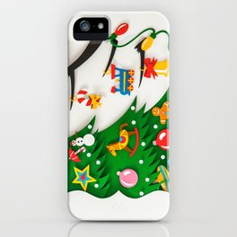 Boris The Christmas Tarantula 3 iPhone Case