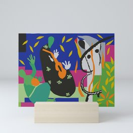 Matisse Cut Out Collage Mini Art Print