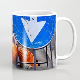 ATTENTION! Here head in action. Coffee Mug