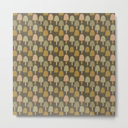 Pattern project #34 / Small Trees Metal Print