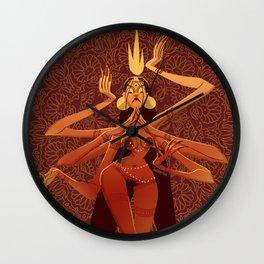 Goddess of Chaos  Wall Clock