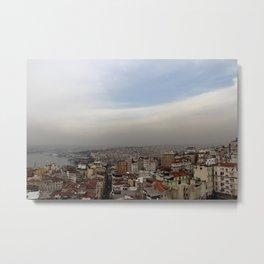 Beyoglu Metal Print