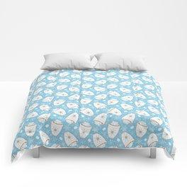 Snowing Marshmallows Comforters