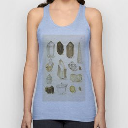 Quartz Crystals Unisex Tank Top