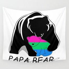 Papa Bear Polysexual Wall Tapestry