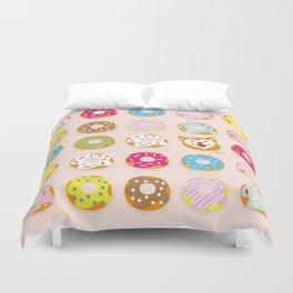 Donut Inu Duvet Cover