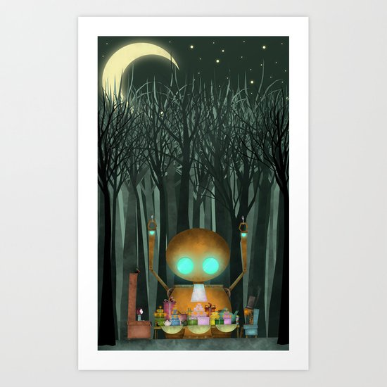 Party of Unusual Things Art Print