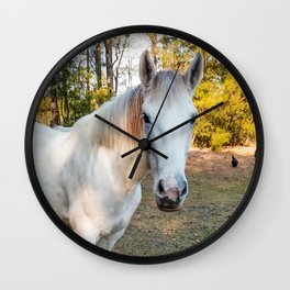 """Apache"" The Worrier Wall Clock"
