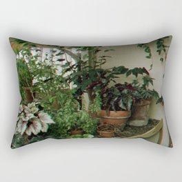 Over Grown Table Rectangular Pillow