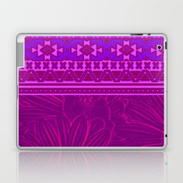 2in1 Pattern Mix, Marcel pink Laptop & iPad Skin