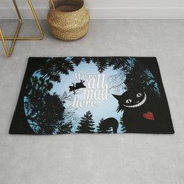 We're All Mad Here - Alice In Wonderland Rug