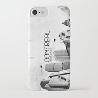 montreal iPhone & iPod Cases featuring Montreal by Yan-k