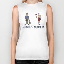 Climber vs #climber Biker Tank
