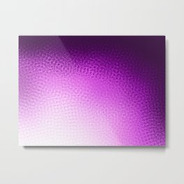 Purple Points Metal Print