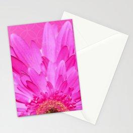 Bold Pink Flower | Nadia Bonello Stationery Cards
