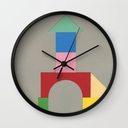 Bauhaus Tower Wall Clock