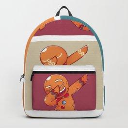 Dab Gingerbread Man Backpack