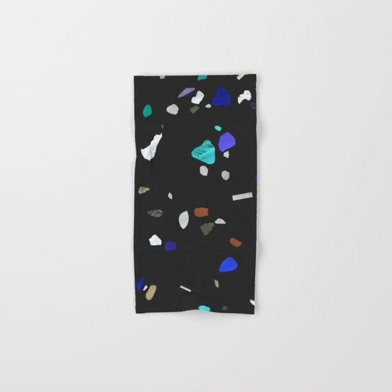 painted terrazzo 2 Hand & Bath Towel