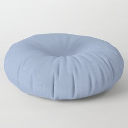 Periwinkle Blue Solid  Floor Pillow