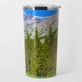 Mt. Robson and the Robson River in British Columbia, Canada Travel Mug