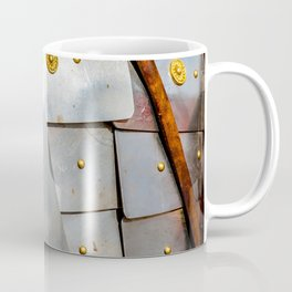 Details Of The Ancient Roman Military Plate Armor Coffee Mug
