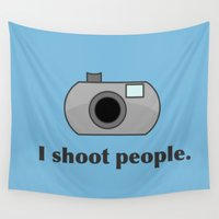humor Wall Tapestries featuring Photography Humor by Murphis the Scurpix