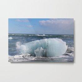 Sprayed ashore Metal Print